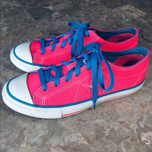 Converse One Star Shoes Sneakers Pink